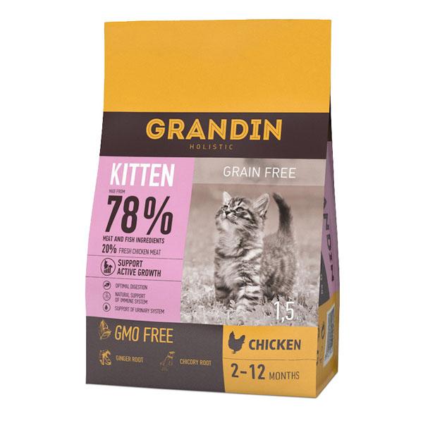 Grandin Kitten Chicken Grain Free