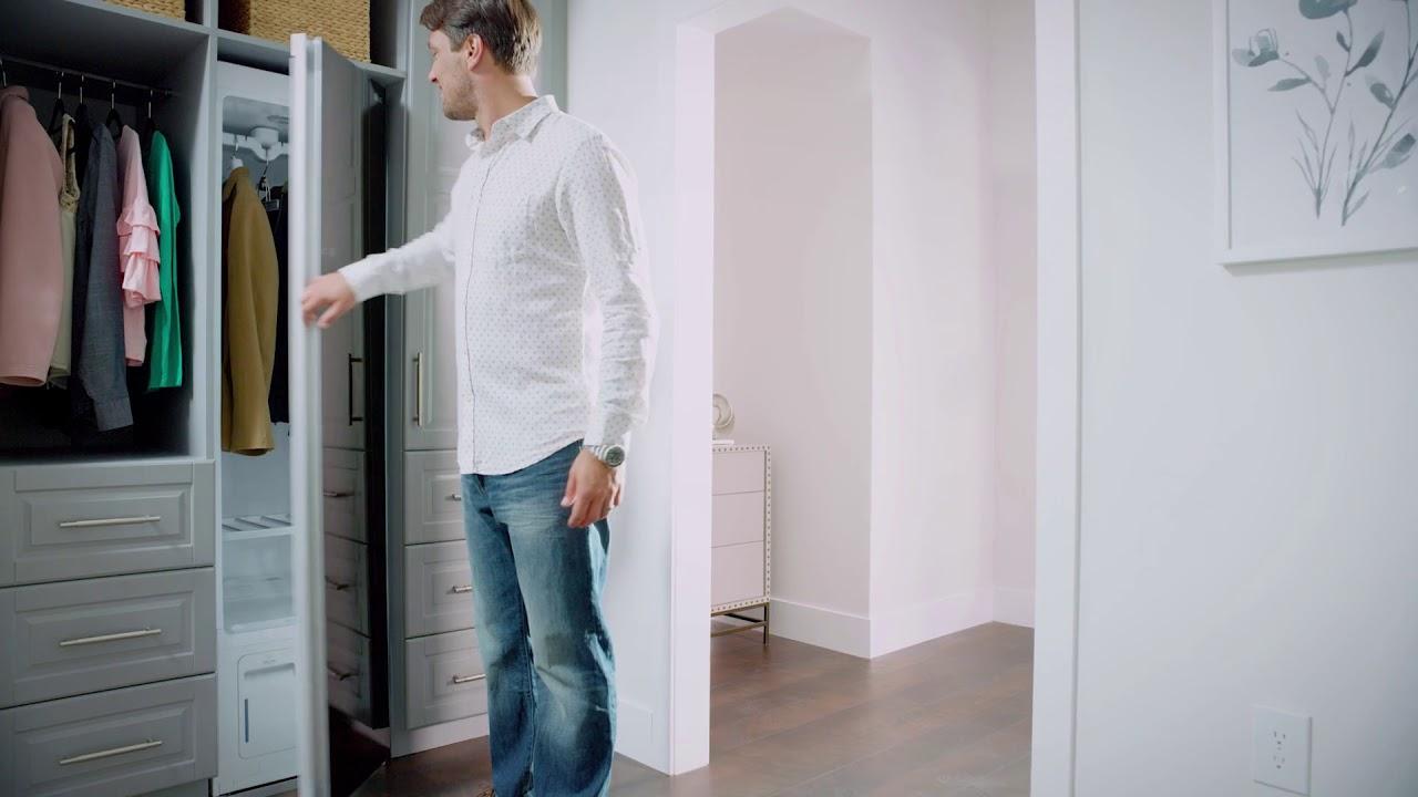 паровой шкаф LG